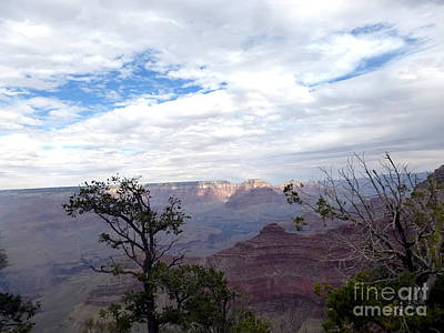 Photograph - Grand Canyon Clouds by Marlene Rose Besso