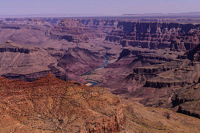 Photograph - Grand Canyon Colorado River by John Johnson