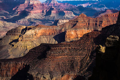 Photograph - Grand Canyon Colors by Ed Gleichman