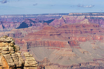 Photograph - Grand Canyon Colors by Lou Ford