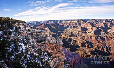 Photograph - Grand Canyon December Glory by Lee Craig