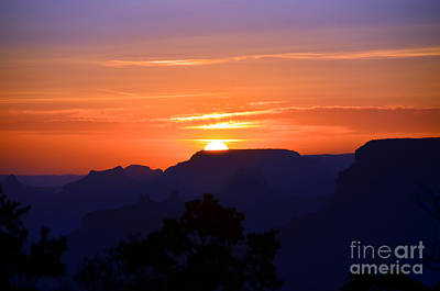Photograph - Grand Canyon Desert View Sunset by Debra Thompson