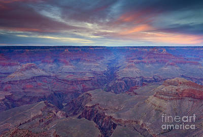 Grand Canyon Dusk Original by Mike  Dawson