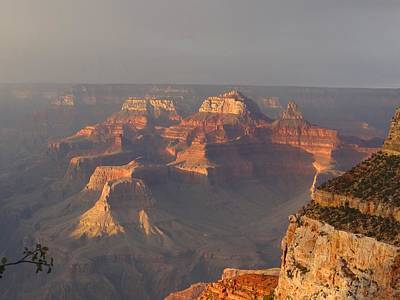 Photograph - Grand Canyon Evening by Keith Stokes
