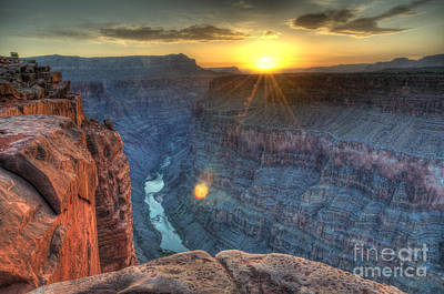 Photograph - Grand Canyon First Light by Bob Christopher
