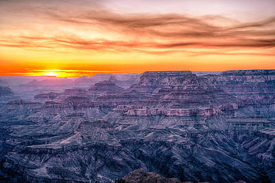 Grand Canyon Photograph - Grand Canyon Glow by Tod and Cynthia Grubbs