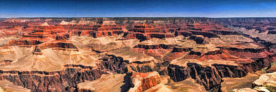 Painting - Grand Canyon Grand View Panorama by Christopher Arndt