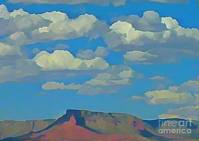 Grand Canyon Horizon Art Print by John Malone
