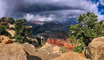 Photograph - Grand Canyon II by C H Apperson