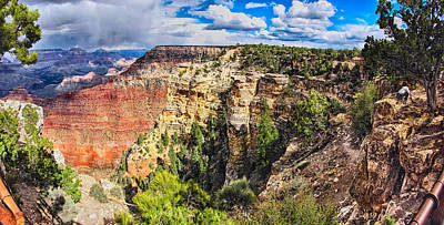 Photograph - Grand Canyon IIi by C H Apperson