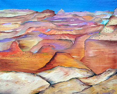 Painting - Grand Canyon by Judith Rhue