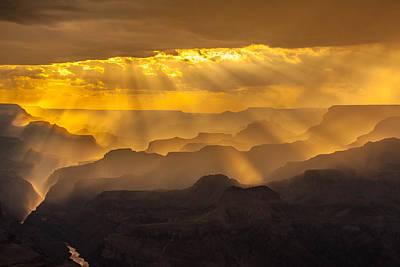 Grand Canyon Lightshow Art Print