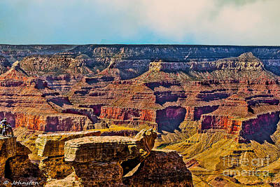 Photograph - Grand Canyon Mather Viewpoint by Bob and Nadine Johnston