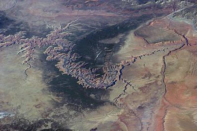 3.14 Photograph - Grand Canyon by Nasa