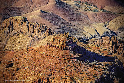 Red Photograph - Grand Canyon National Park 11 by LeeAnn McLaneGoetz McLaneGoetzStudioLLCcom