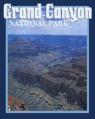 Photograph - Grand Canyon National Park Vintage Style by Nature Scapes Fine Art