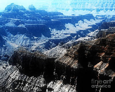 Digital Art - North Rim C - Grand Canyon N.p.  by Tim Richards