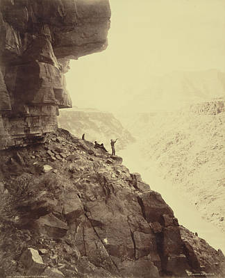 Grand Canyon Drawing - Grand Canyon Of The Colorado River William Henry Jackson by Litz Collection