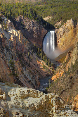 Photograph - Grand Canyon Of The Yellowstone by Bill Singleton