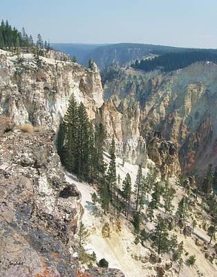 Photograph - Grand Canyon Of The Yellowstone by Joe Duket