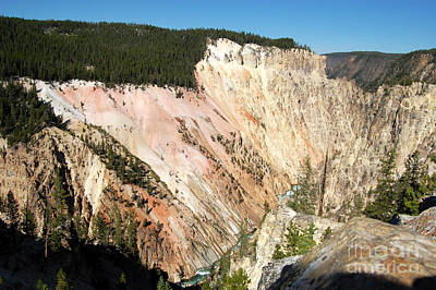 Wall Art - Photograph - Grand Canyon Of The Yellowstone by Susan Montgomery