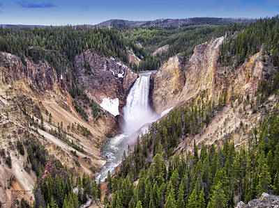 Grand Canyon Of Yellowstone National Park 3 Art Print
