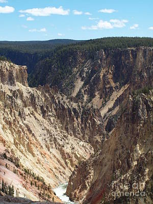 Photograph - Grand Canyon Of Yellowstone by Tammy Bullard