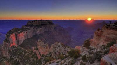 Grand Canyon Painting - Grand Canyon Painting by Nicole Gardner
