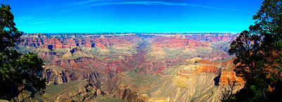 Grand Canyon Panorama Art Print by Penny Lisowski