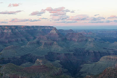 Photograph - Grand Canyon Pastels by Lou Ford