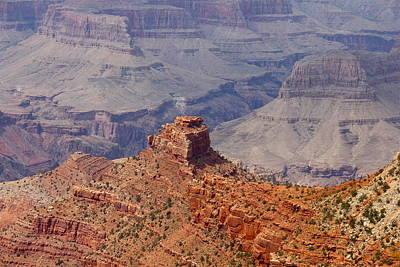 Photograph - Grand Canyon Peak by Denise Mazzocco