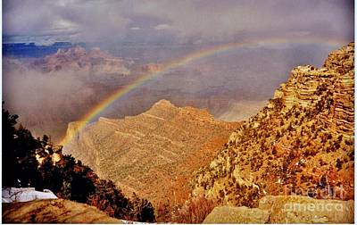 Photograph - Grand Canyon Rainbow by Marilyn Smith