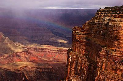Photograph - Grand Canyon Rainbow No.2 by Daniel Woodrum