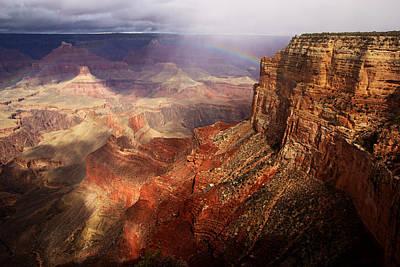 Photograph - Grand Canyon Rainbow No.3 by Daniel Woodrum