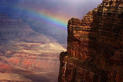 Photograph - Grand Canyon Rainbow No.4 by Daniel Woodrum