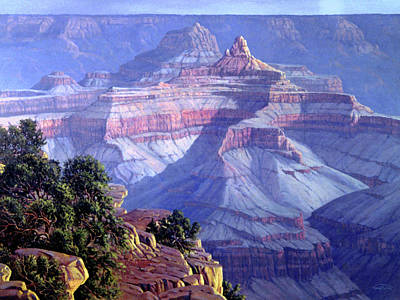 Aztecs Painting - Grand Canyon by Randy Follis