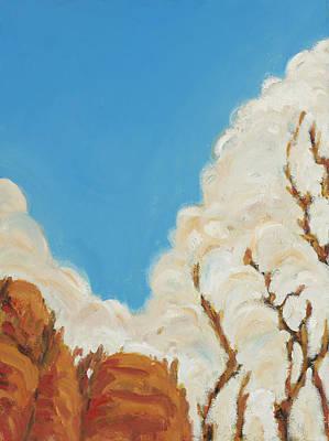 Painting - Grand Canyon Rimrocks by David  Llanos