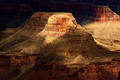 Photograph - Grand Canyon Shadows No.2 by Daniel Woodrum