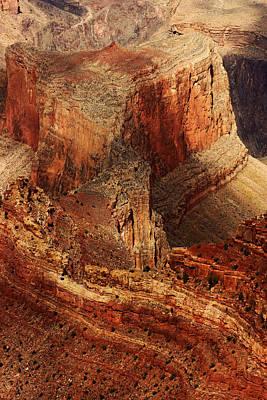 Photograph - Grand Canyon Shadows No.3 by Daniel Woodrum
