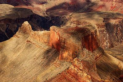 Photograph - Grand Canyon Shadows No.4 by Daniel Woodrum