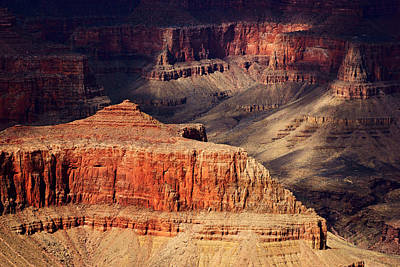 Photograph - Grand Canyon Shadows No.5 by Daniel Woodrum