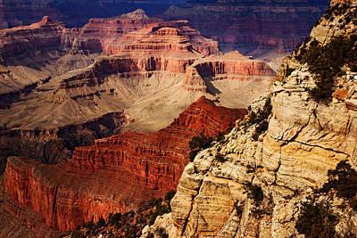 Photograph - Grand Canyon Shadows No.8 by Daniel Woodrum