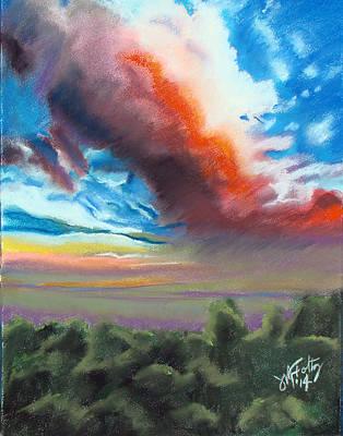Pastel - Grand Canyon Sky by Michael Foltz