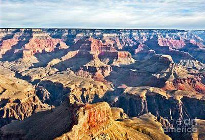 Photograph - Grand Canyon Skyline by Mae Wertz