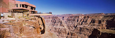 Grand Canyon Skywalk, Eagle Point, West Art Print by Panoramic Images
