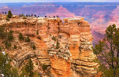 Art Print featuring the photograph Grand Canyon South Rim by Bob Pardue