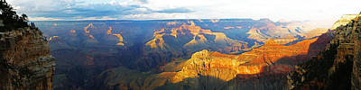 Photograph - Grand Canyon South Rim Panorama by Toby McGuire