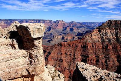 Grand Canyon - South Rim View Art Print by Aidan Moran