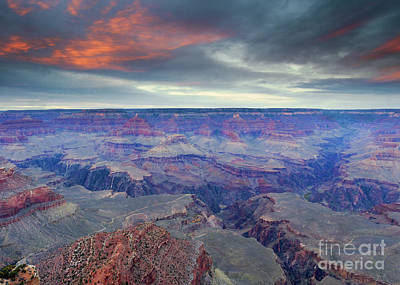 Grand Canyon Storm Set Original by Mike Dawson