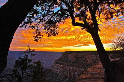 Photograph - Grand Canyon Sunrise by Matthew Heller